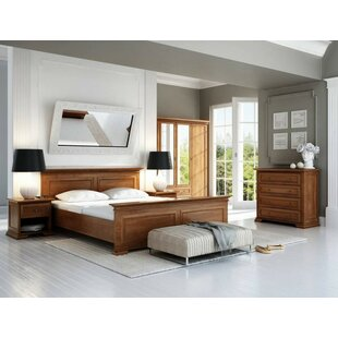 Venters Queen Platform Bed with Mattress