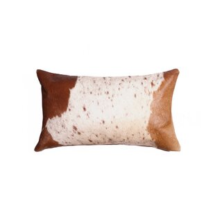Graham Leather Lumbar Pillow