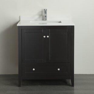 Ivybridge 34 Single Bathroom Vanity Set by Highland Dunes