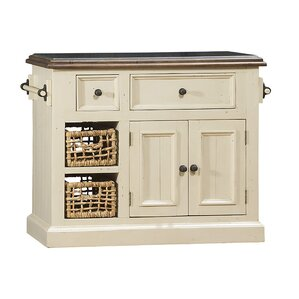 Zula Kitchen Island with Granite Top by Laurel Foundry Modern Farmhouse Onsale