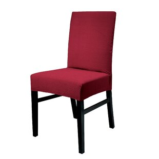 Stretch Spandex Dining Chair Slipcover Set Of 2