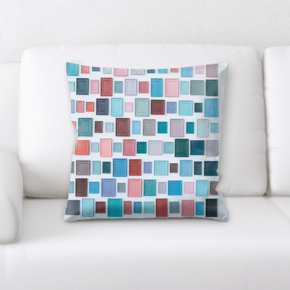 Ebern Designs Hummel Sharp Colors Throw Pillow Wayfair