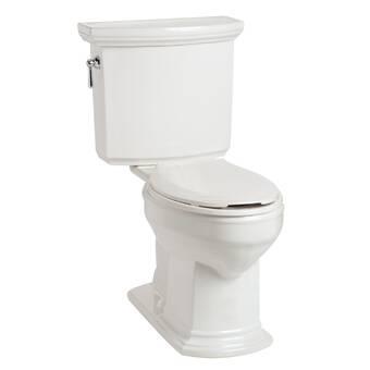 White Mansfield Plumbing 4148.3148.WHT Brentwood HET Toilet