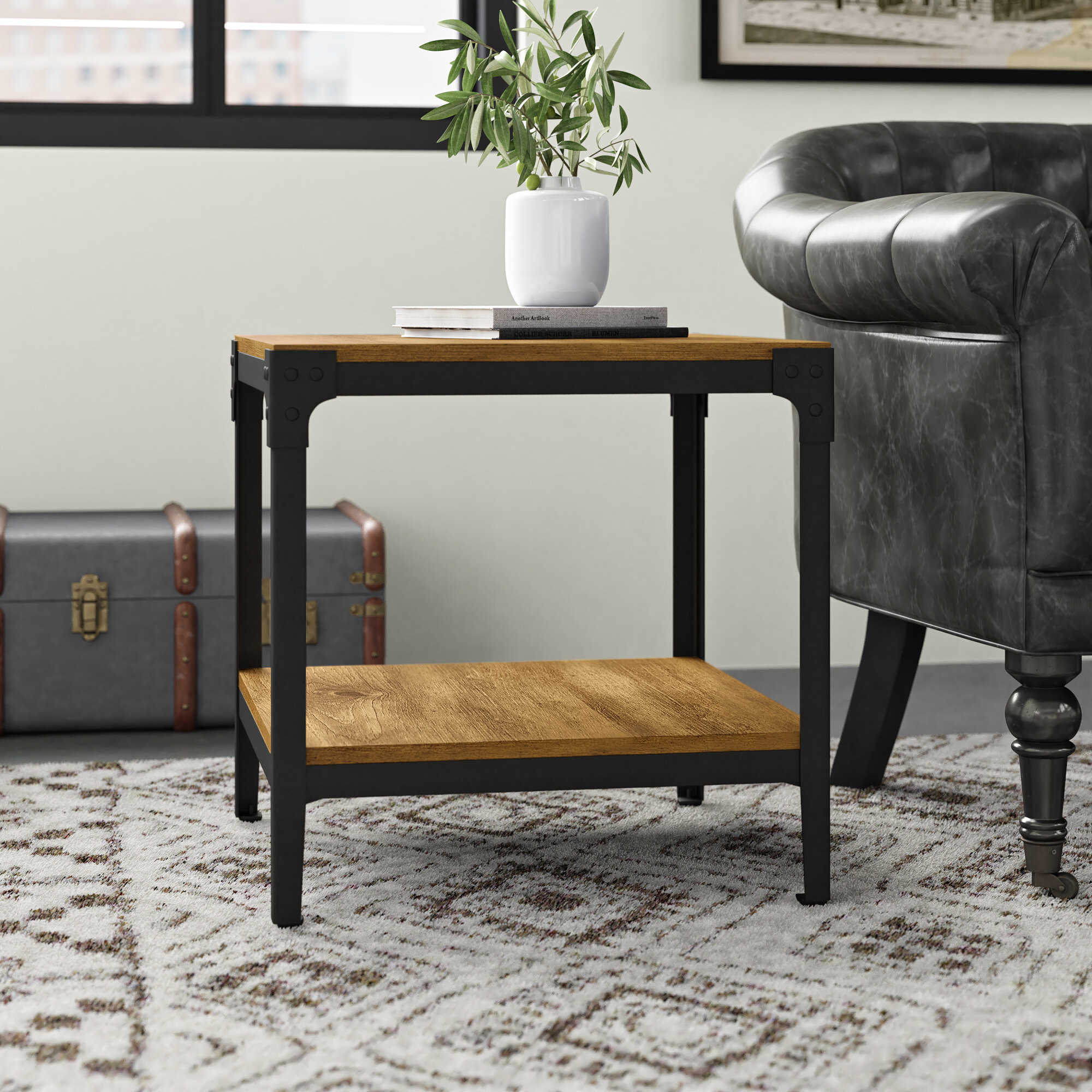 Greyleigh Cainsville 4 Legs End Table Set Reviews Wayfair