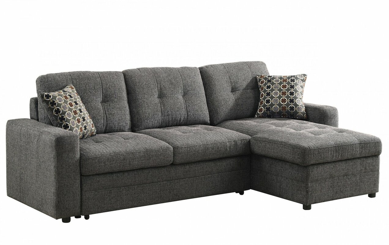 sleeper sectional. infini furnishings sleeper sectional  reviews  wayfair