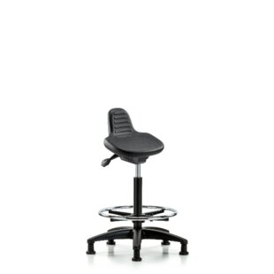 Dax Height Adjustable Lab Stool by Symple Stuff Bargain