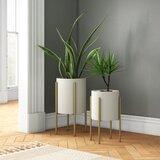 2 Large Indoor Planters You Ll Love In 2021 Wayfair