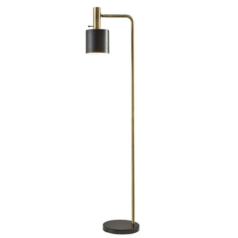 Baskin 61 Task Reading Floor Lamp Reviews Allmodern