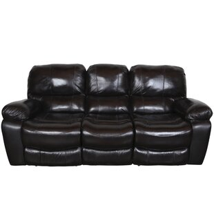 Carraton Modern Leather Reclining Sofa