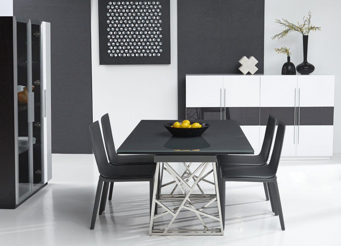 Bellini Modern Living Borg Expandable Dining Table & Reviews | Wayfair