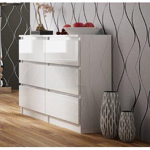 Shutt 6 Drawer Double Dresser By Mercury Row