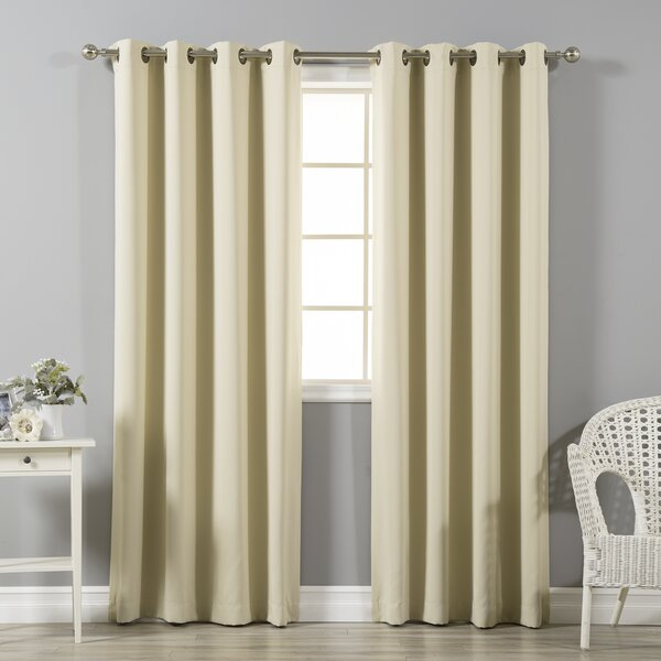 Curtains With Bronze Grommets Wayfair