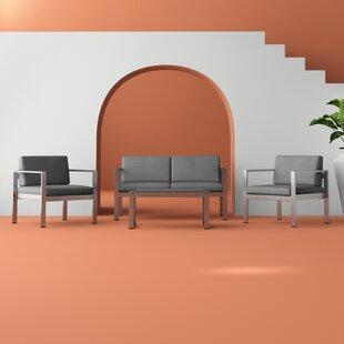 Cashion 4 Seater Sofa Set By Hashtag Home