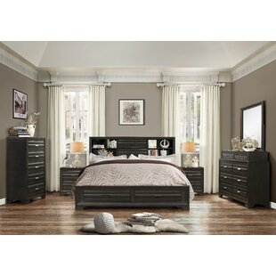 Loiret Wood 6 Piece Bedroom Set. By Roundhill Furniture