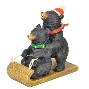Bear on Sleigh (Set of 2)