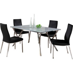 Decimus 5 Piece Rectangular Dining Set Orren Ellis
