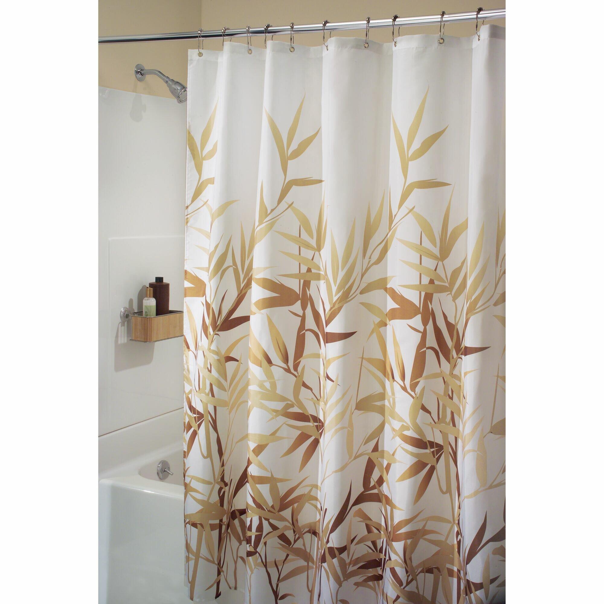 Bay Isle Home Nero Floral Single Shower Curtain Reviews Wayfair Ca