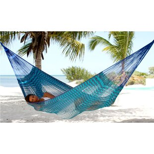 Maya Artists of The Yucatan Double Person Loving Mother Embrace' Sustainable Cotton Tree Hammock by Novica