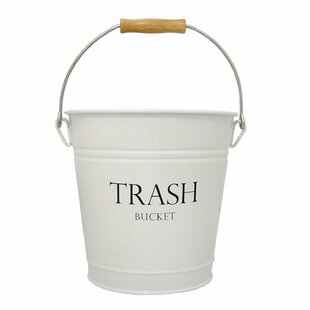 White Bedroom Trash Can Wayfair