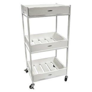 Sagebrook Home 3 Tiered Bar Cart
