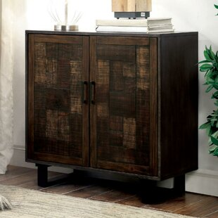 Murrell Textured Hallway Wooden 2 Door Accent Cabinet by Williston Forge