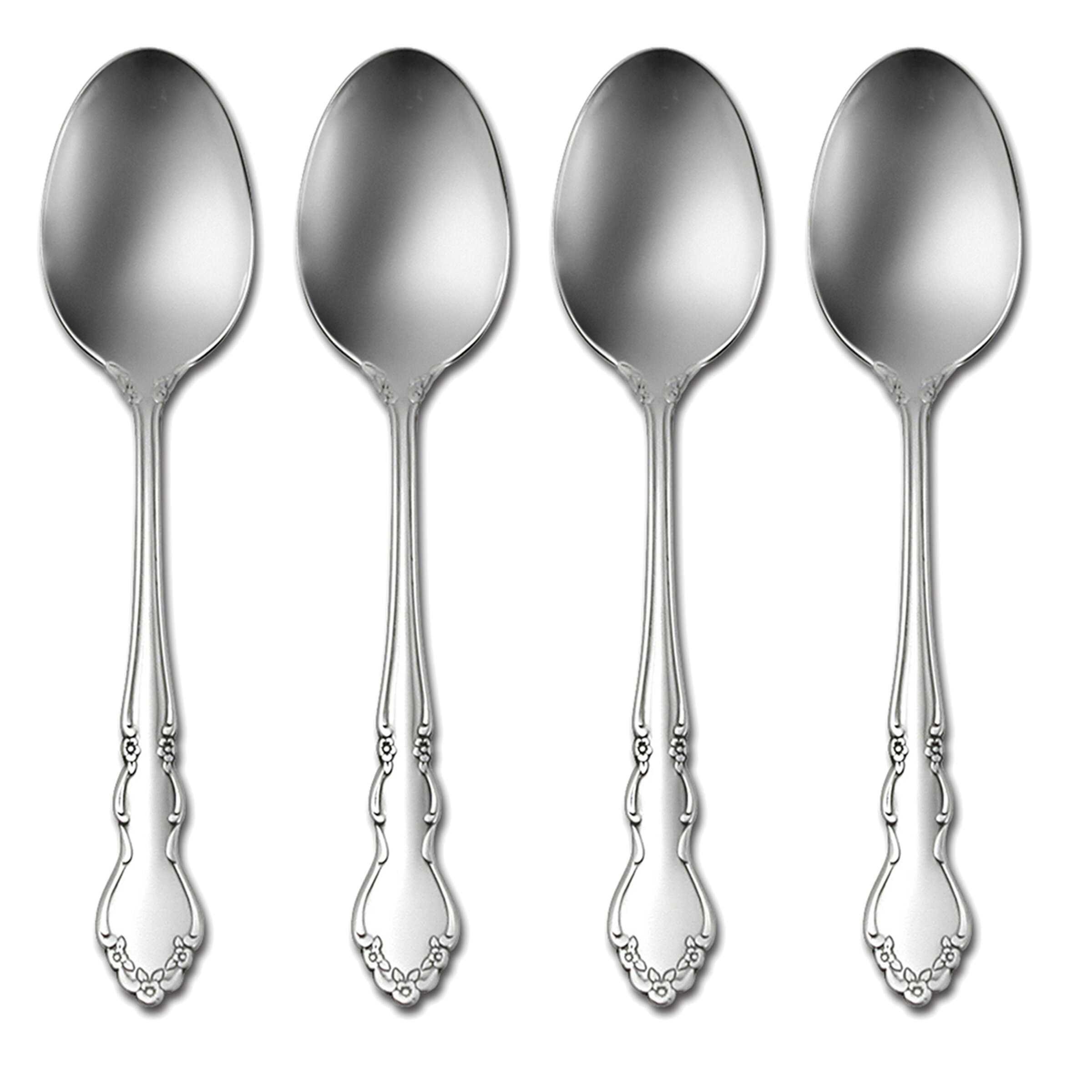 Set of 4 Stainless Steel Louisiana Place Spoon
