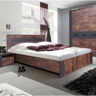 Brayden Studio Fulford Queen Platform Bed with Mattress