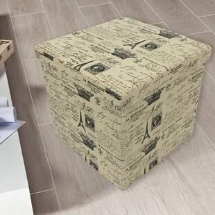 Kinchen Paris Storage Ottoman by Ophelia & Co.