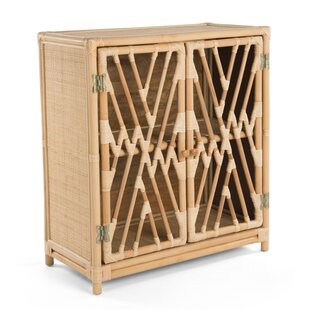 Margrett Rattan Accent Cabinet by Bayou Breeze