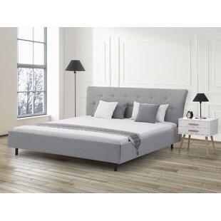 Maliyah European Kingsize (160 X 200 Cm) Upholstered Bed Frame By Ebern Designs