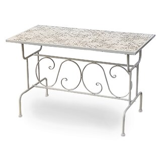 Eaves Iron Dining Table By Fleur De Lis Living