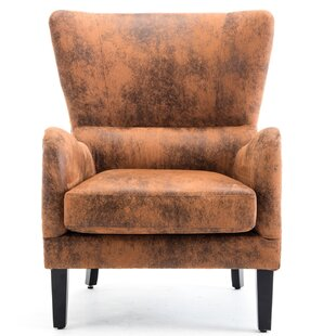 Clearance Quincy Wingback Chair By George Oliver