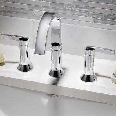 Berwick Double Handle Deck Mounted Roman Tub Faucet American Standard Finish: Polished Chrome