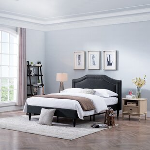 Leung Fabric Queen Upholstered Panel Bed