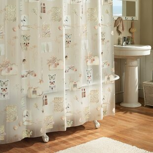 Find a Janey Natures Moments 100% PEVA Shower Curtain ByAugust Grove