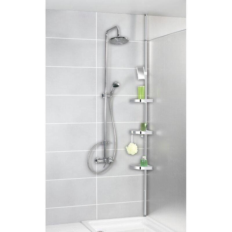 Wenko Freestanding Shower Caddy & Reviews | Wayfair.co.uk