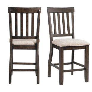 Hot Springs Counter Upholstered Dining Chair (Set of 2)
