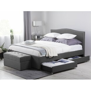 Cheung Upholstered Bed Frame By Marlow Home Co.