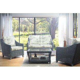 Nevaeh 4 Piece Conservatory Sofa Set By Beachcrest Home