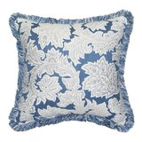 Jacobean Spring Sunbrella Indoor / Outdoor Floral Throw Pillow