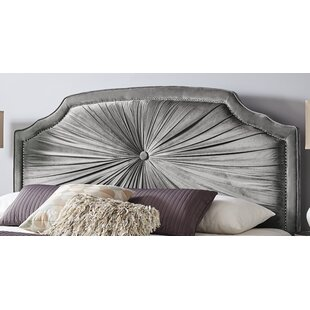 Nolia Upholstered Panel Headboard by House of Hampton
