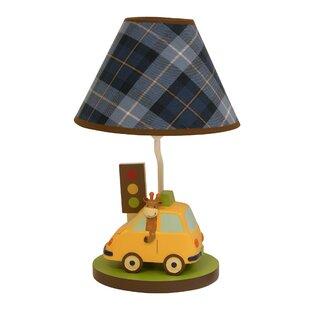 Race car lamp wayfair vroom lamp with shade and energy efficient bulb aloadofball Choice Image