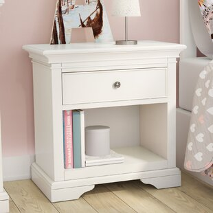 Read Reviews Stovall 1 Drawer Nightstand by Harriet Bee Reviews (2019) & Buyer's Guide
