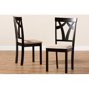 Guyton Sand Dining Chair (Set of 2) Charlton Home