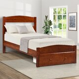 Bond Twin Platform Bed with Drawers by Harriet Bee