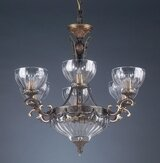 Classic Lighting Warsaw 8-Light Shaded Chandelier