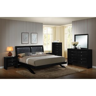 Plumwood Platform Configurable Bedroom Set