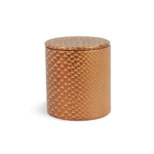 Rembrandt Home Genuine Leather Round Jar