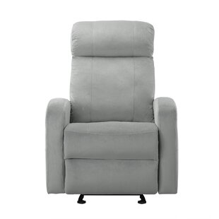 Knepp Overstuffed Classic Manual Recliner by Winston Porter