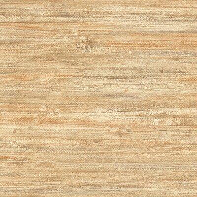 World Menagerie Usher 32.7' x 20.5 Flat Vinyl Wallpaper Roll Color: Pale Gold / Rust / Ochre / Brown